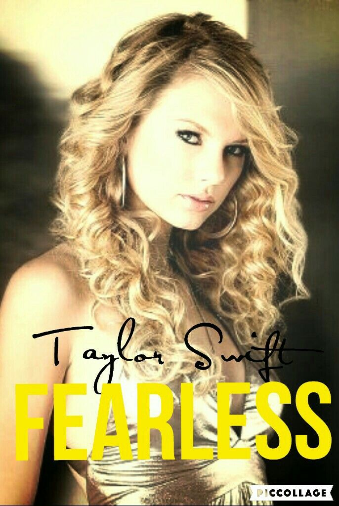 Taylor Swift Fearless album cover edit by Chloe Is a Swiftie.