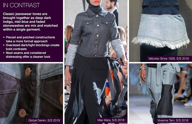 #Trendstop SS19 Denim Trends on #WeConnectFashion. Theme: In ...