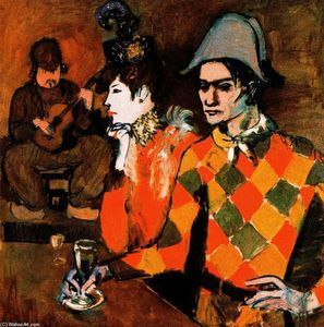 Pablo Picasso - At the ''Lapin Agile''