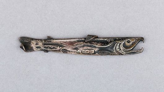 Japanese Knife Handle (Kozuka,) ca. 1615–1868 (Edo period)