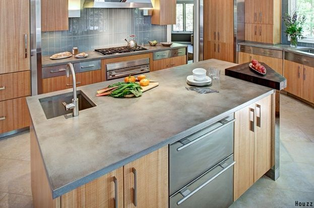 Concrete Countertop The Kitchen Is One