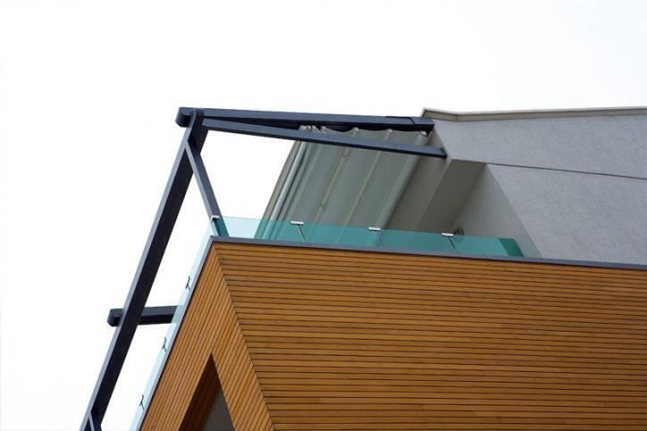 Terrace sitting automatic roofing systems by creative design ind