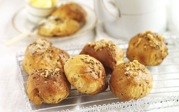 Rich Bath buns with a sweet sugar glaze were a favourite of Jane Austen -   though apparently it was easy to over-do it.
