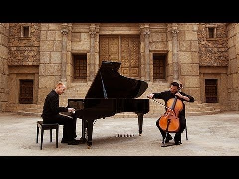 O Come, Emmanuel - (Piano/Cello) - ThePianoGuys A great video for the #Christmas season!