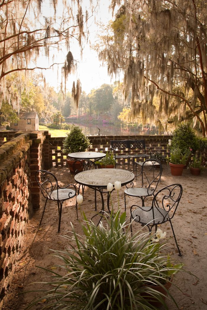 """hueandeyephotography: """"Outdoor Seating, Middleton Place Gardens, Charleston, SC © Doug Hickok All Rights Reserved """""""