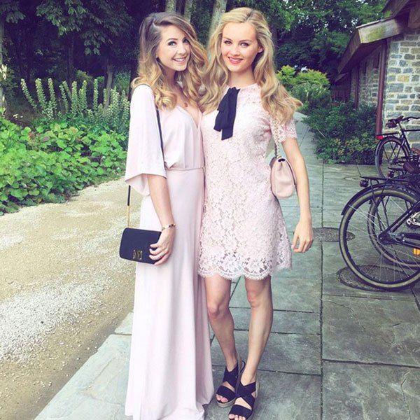 Zoella and Niomi Smart wedding guest dresses
