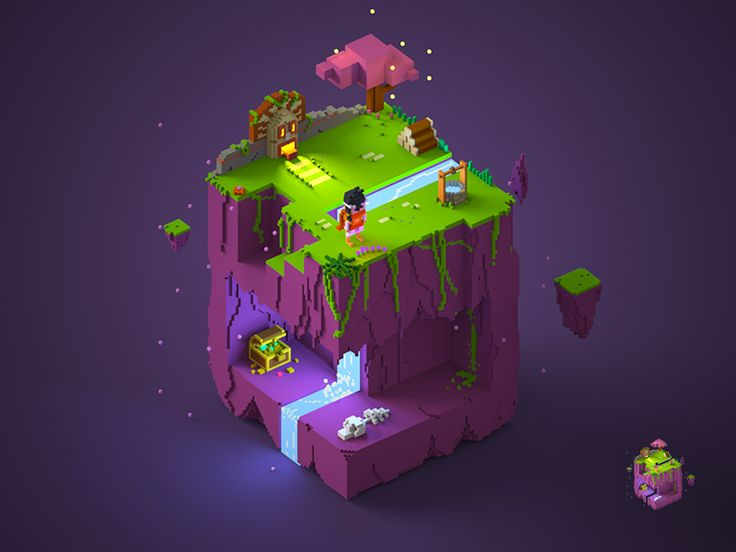 magic island at night :D