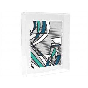 Acrylic kunstframe € 29,95 http://www.zusenzowonen.nl/wanddecoratie/muurdecoratie/hk-living-acrylic-kunstframe-