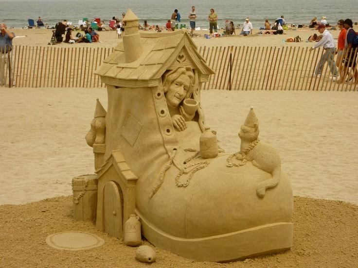 Hampton Beach Sand Castles 2011