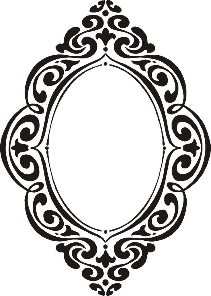 Las 25 mejores ideas sobre marcos negros en pinterest y for Espejos decorativos sin marco