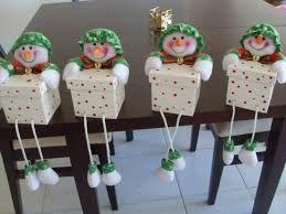 cajas de carton decoradas navideñas - Buscar con Google