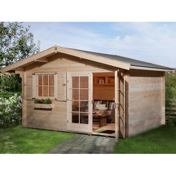 OBI Holz-Gartenhaus Panorama im OBI Online-Shop