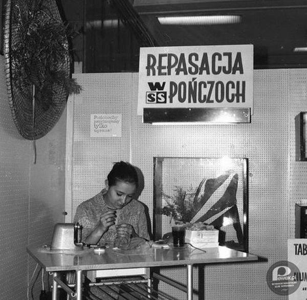 Repasacja pończoch – Retro.Pewex.pl – Retrosentymentalny klub wspomnień wszystkich, którzy pamiętają życie w czasch PRL, lata 50., lata 60.,...