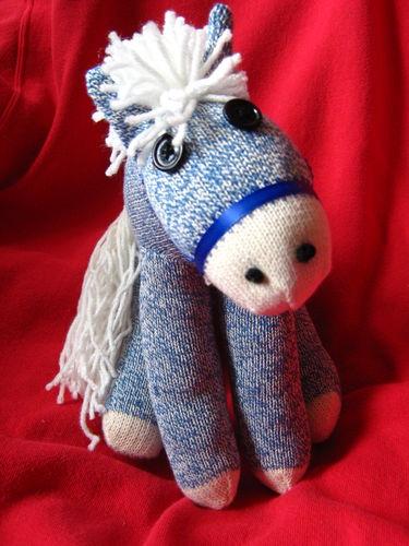 Rockford Red Heel Sock Monkey Horse