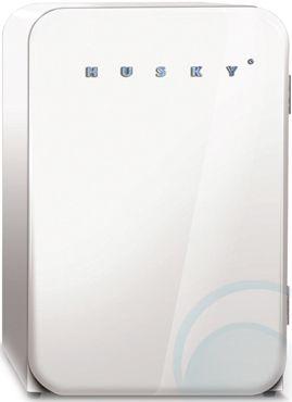 110L Husky Fridge HUS-RETRO $537 sale appliances online.