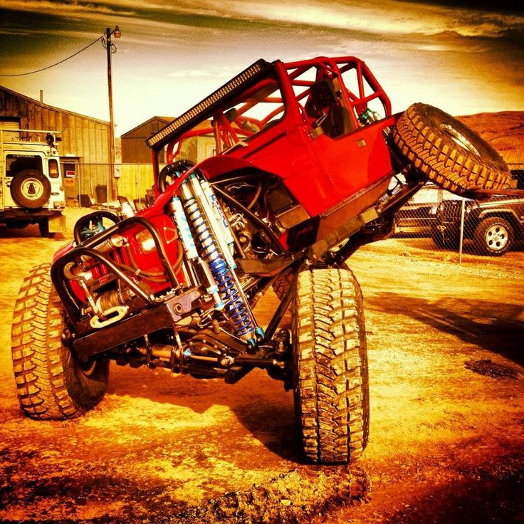 Jeep YJ crawler