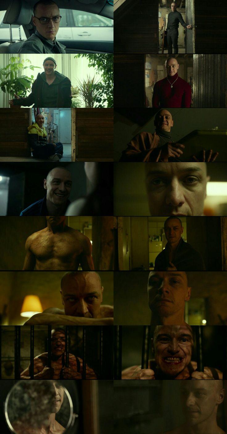 James McAvoy as 24 personalities man Kelvin in Split(2017) Directed by M.Night Shyamalan.