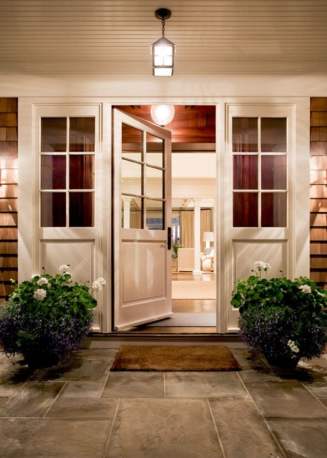 1000 ideas about single french door on pinterest french for Front entryway decorating ideas