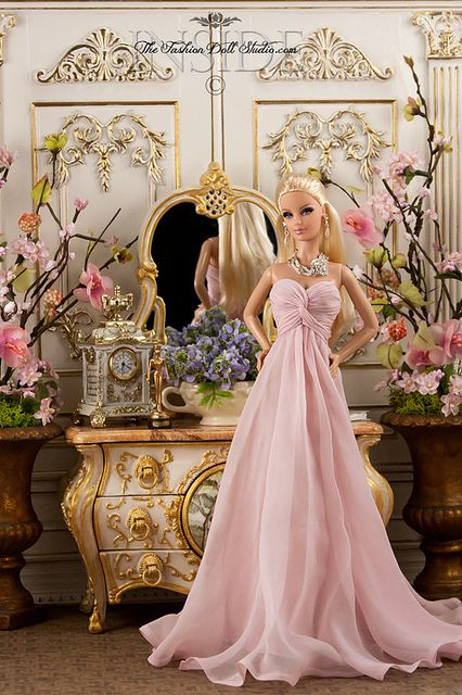 """Presenting at the Oscars."" This is what I used to do! I liked to pretend my Barbie was both nominated for an Oscar (for costume design, what else!) AND an award presenter."