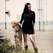 Дрессировщица Дарья Костюк: 'Щенки гепардов как маленькие дети'