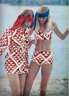 1960s Beach Wear