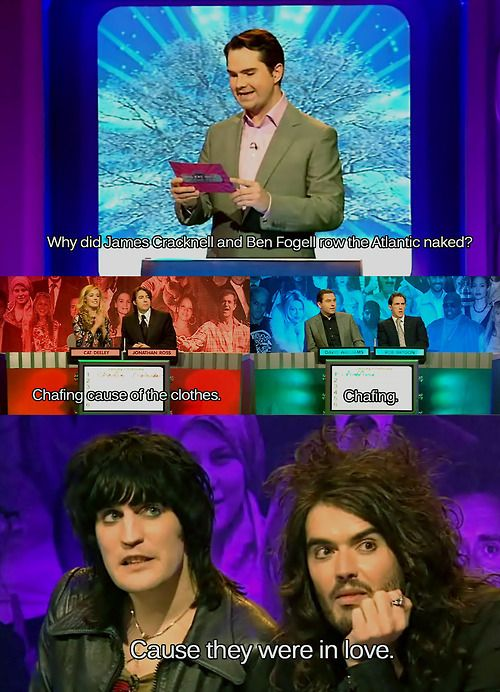 Big Fat Quiz of the Year - watch it!!! So funny!