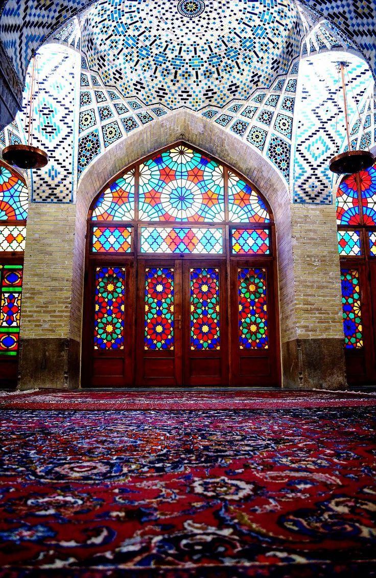 Nasir al molk mosque,Shiraz,Iran