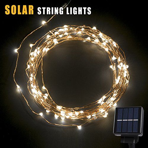 Outdoor Party Lights Screwfix: Solar String Lights,200 LED Outdoor Starry String Lights
