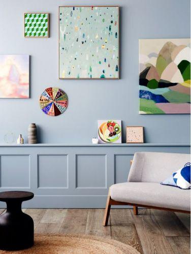 les 25 meilleures id es de la cat gorie cimaise sur pinterest manteau de salon chemin e. Black Bedroom Furniture Sets. Home Design Ideas
