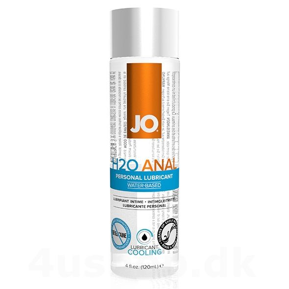 JO vandbaseret anal glidecreme med køle effekt i 120 ml flaske - som om anal sex ikke er frækt nok i sig selv - kombinere det med denne kølende og prikkende anal glidecreme fra JO og mærk forskellen #analsex #køle #glidecreme #lubricant #anal #lube #anallube #systemjo #joh2oanal #analglidecreme