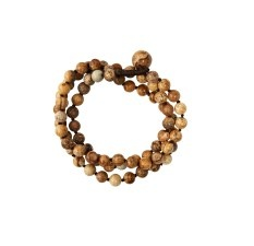 Chalice beaded wrap button & loop bracelet $33 | threads and style