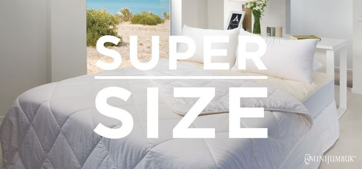 To super size or not.