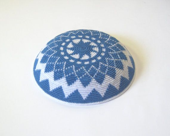 26 best Crochet yarmulkas images on Pinterest | Häkelideen, Stricken ...