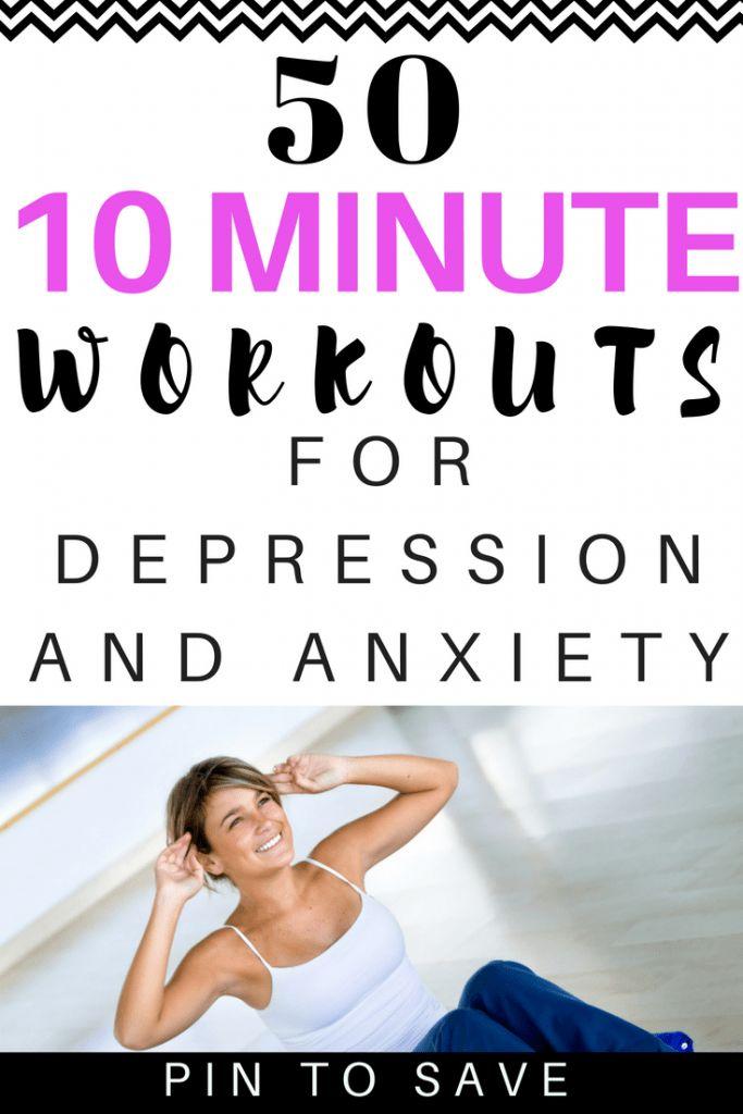 10-minütiges Training gegen Depressionen und Angstzustände