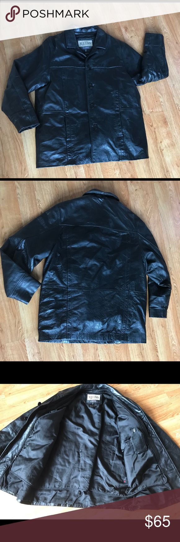 M JULIAN willsons leather jacket M julian willson lesther