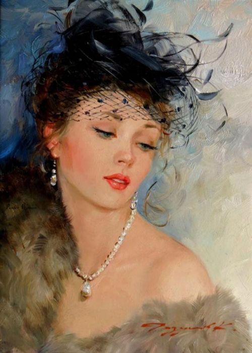 Wunderschöne Dame