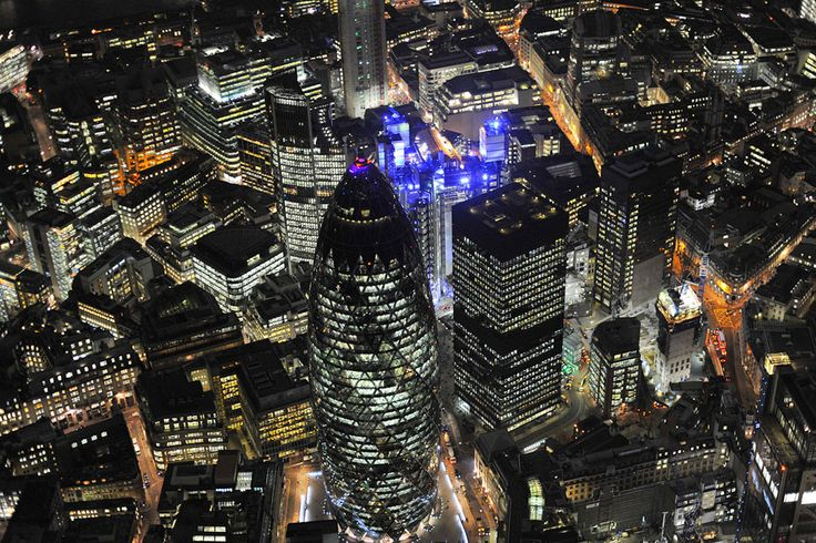 Views From the Night Sky: London and the U.K. - In Focus - The Atlantic