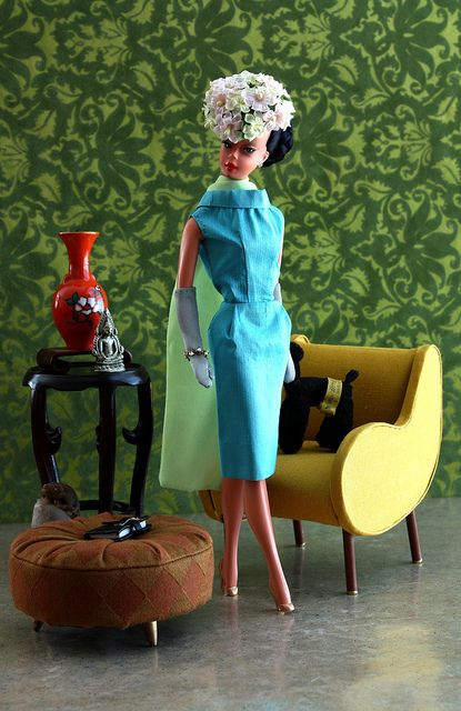 Turquoise Barbie House: 25+ Best Ideas About Barbie Miniatures On Pinterest