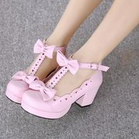 Sweet lolita cosplay bowknot heels · Asian Cute {Kawaii Clothing} · Online Store Powered by Storenvy