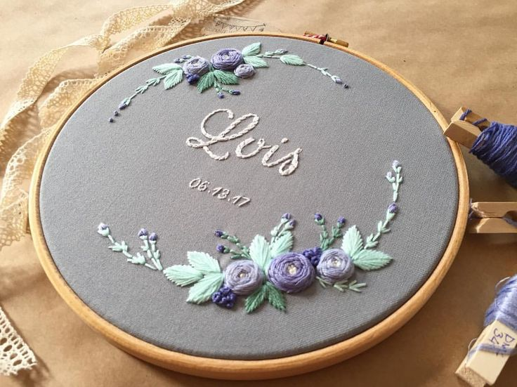 "475 Beğenme, 11 Yorum - Instagram'da @zezehandcraft: ""For Lois ... . . . . #embroidery #embroider #embroidered #embroideryhoops #embroideryartist…"""