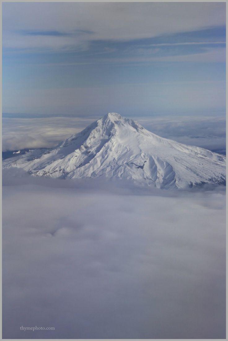 Mt. Hood in Oregon. U.S.