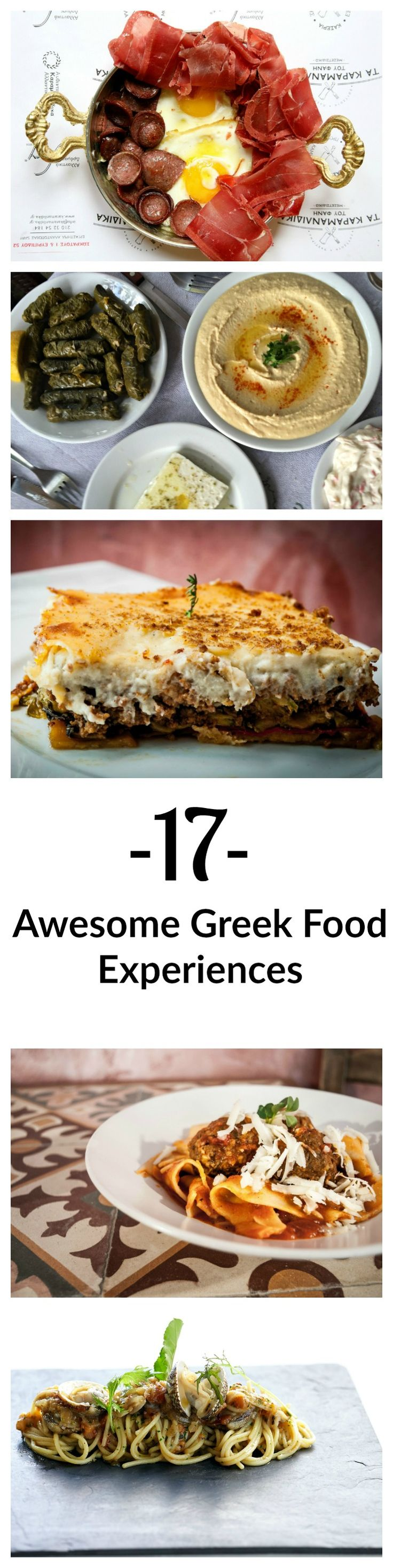 Have you had any of these Greek food experiences?