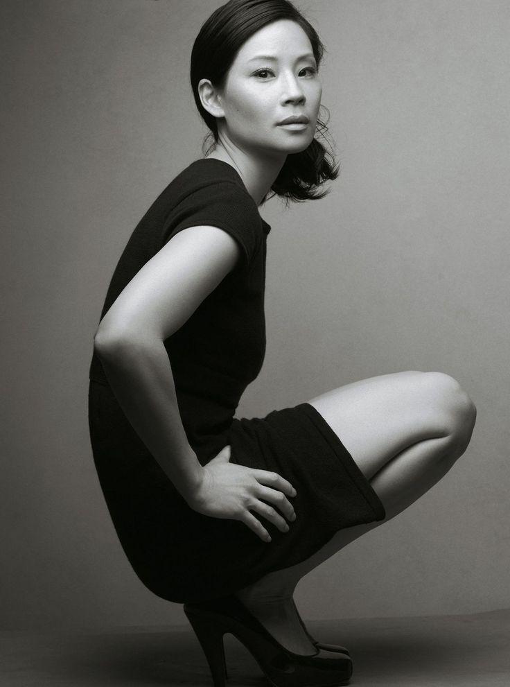 Lucy Liu photo by Annie Leibovitz for The Gap