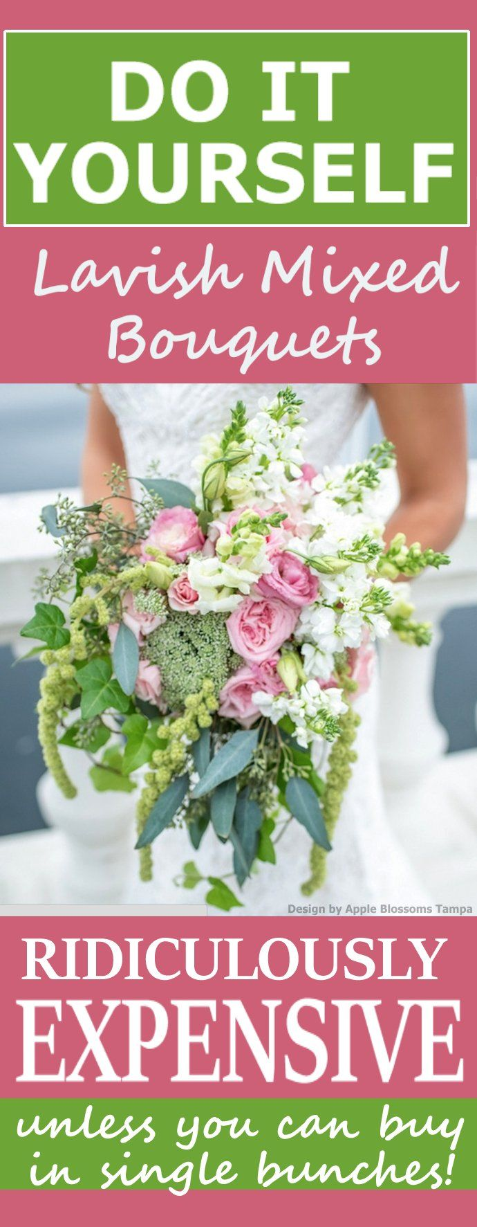 49 best pink roses wedding flowers images on pinterest wedding wedding flower prices can you save by doing it yourself learn how to make izmirmasajfo Choice Image