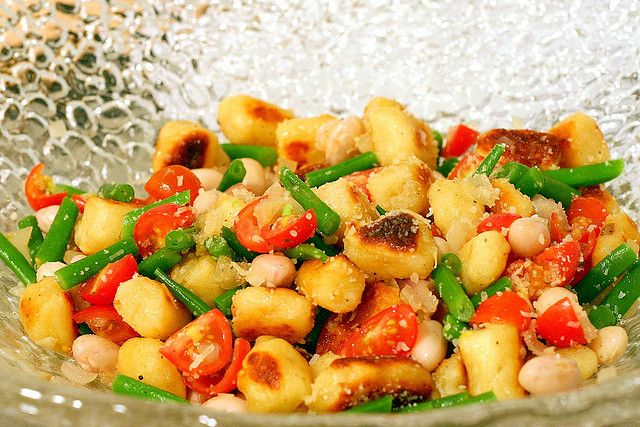 toasted gnocchi salad by smitten, via Flickr