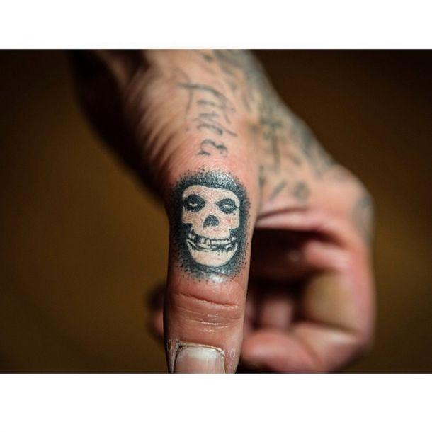 Travis Barker Misfits Tattoo