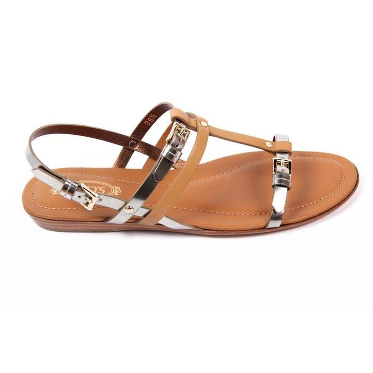 Multicolor 36 EUR - 6 US (241mm) Tods ladies flat sandal XXW0II0C2601GJ193I