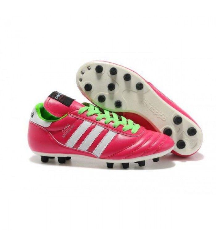 Acheter Nouveau Crampons de Foot Adidas Copa Mundial FG Hommes Samba Rose Blanc pas cher en ligne 78,00€ sur http://cramponsdefootdiscount.com