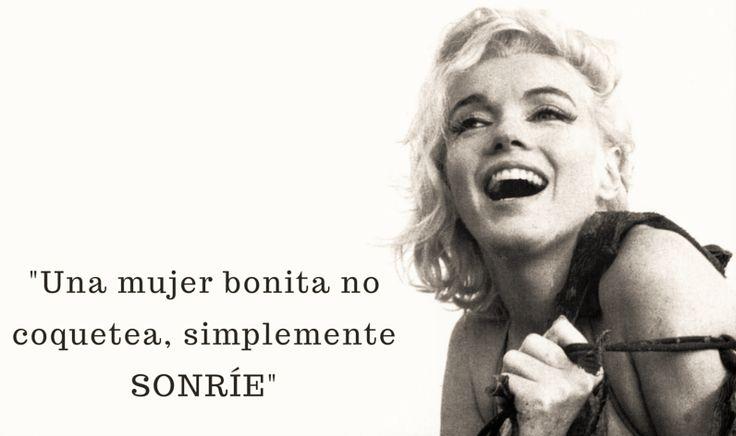 #girls #leydevida #attitude #quote #MarilynMonroe #tips #simplicity