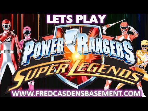 Power Rangers Super Legends: Overdriven Operations   Fred Casden's Basem...